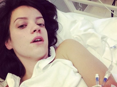 Lily Allen rushed to hospital after poorly Chatty Man performance (but she's kindly documented her ordeal in pictures for you)