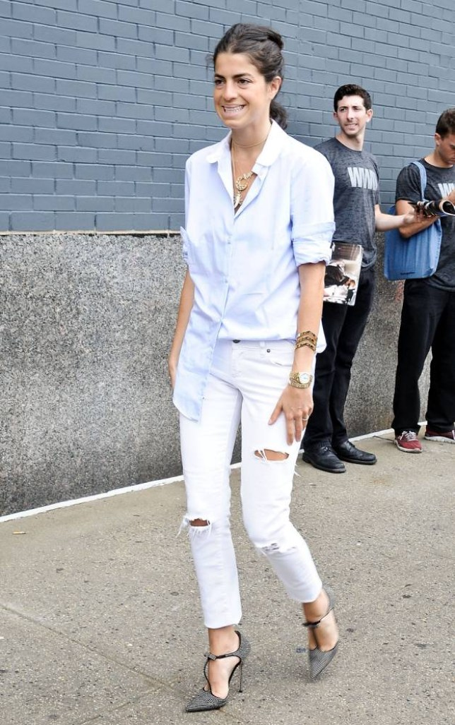 Get the hottest jean look of the summer (Picture: Daniel Zuchnik/Getty Images)