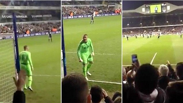 Paul Robinson starts 'stand up if you hate Arsenal' chant at Ledley King testimonial