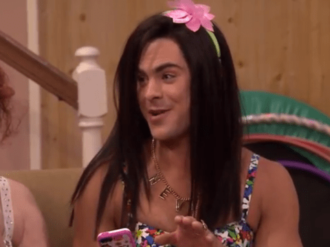 Here's Zac Efron and Seth Rogen in drag (and if you fancied Zac before, you definitely won't now)