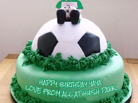Yeovil 'send Yaya Toure' birthday cake in bid to win Manchester City man's affections