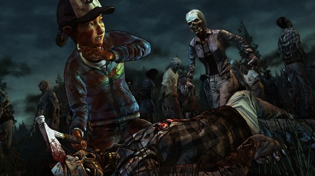 The Walking Dead: Season Two – Episode 3 (PC) - Clemy the zombie killer