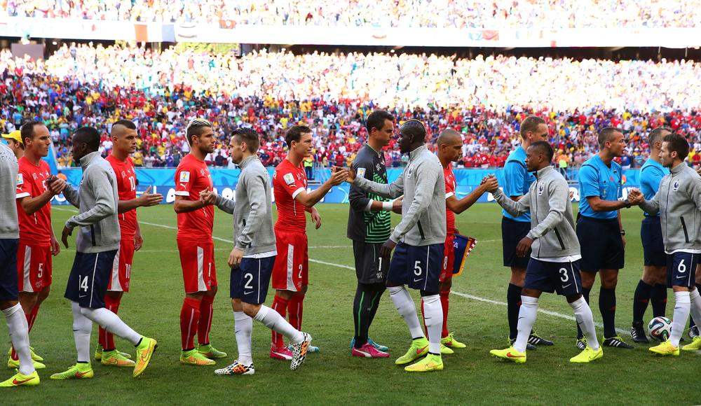 Switzerland need help from France to stay on World Cup rollercoaster