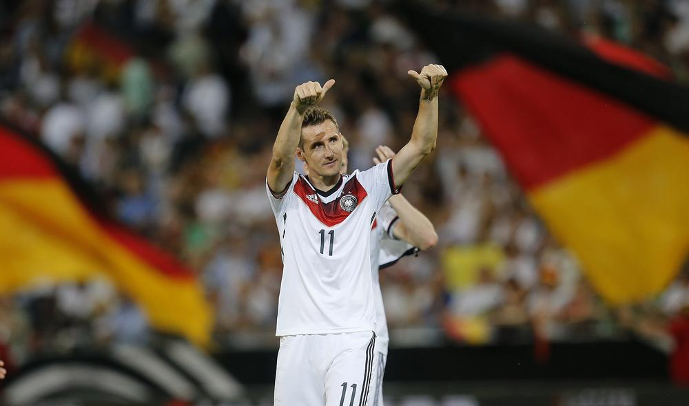 Can Miroslav Klose roll back the years to fire Germany to World Cup glory?