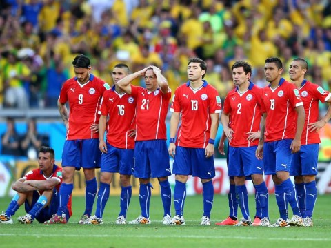 Chile crash out the World Cup but leave with their heads held high