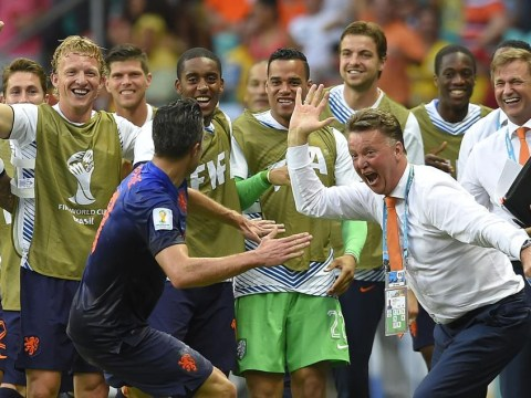 Louis van Gaal and Robin van Persie's World Cup with Netherlands gets Manchester United fans excited