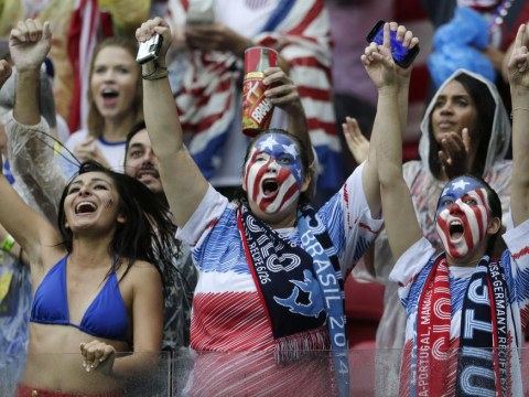 Bring on those Belgians! USA fans can continue to party in Brazil
