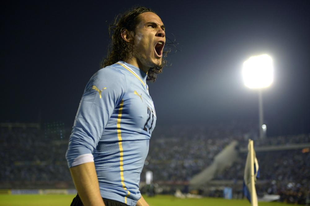Will Edinson Cavani play second fiddle to Luis Suarez for Uruguay once Liverpool striker returns?
