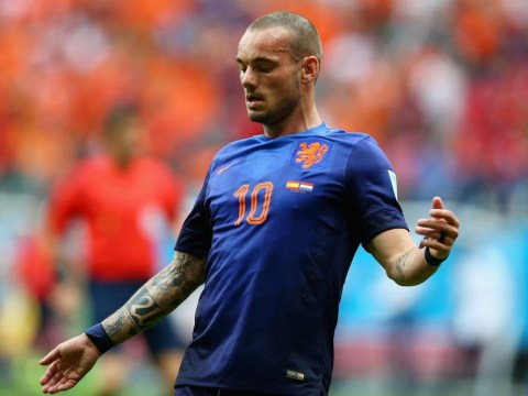 Wesley Sneijder admits he would struggle to turn down Manchester United offer from Louis van Gaal