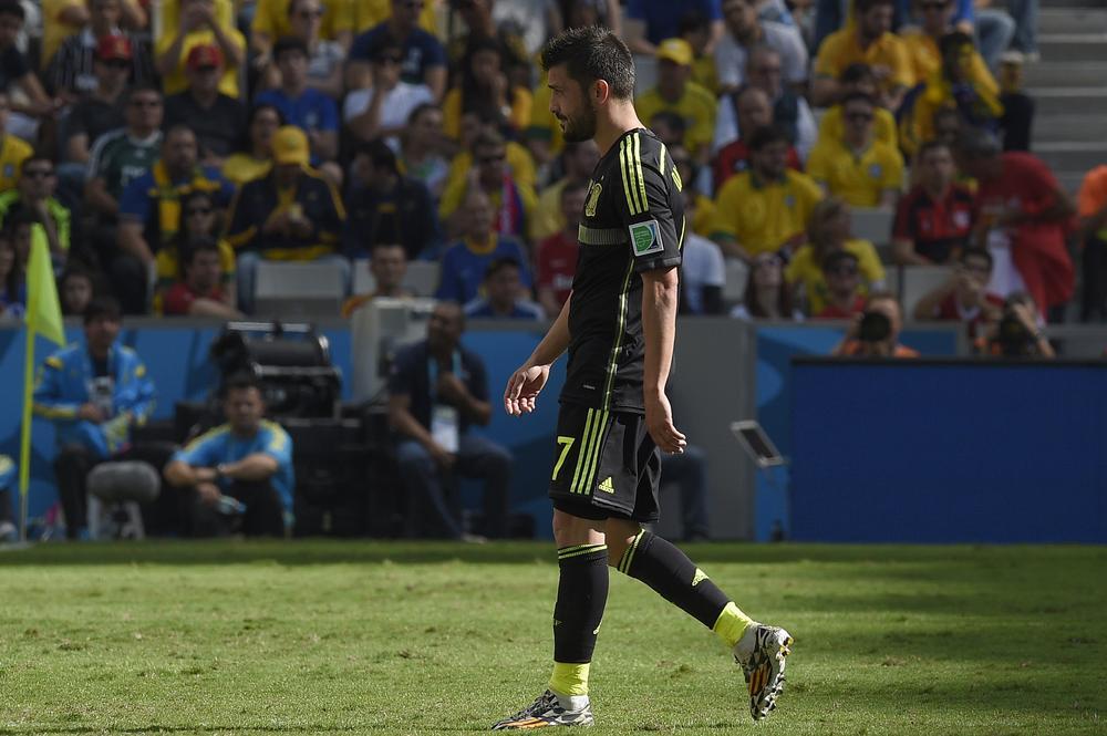 Vicente del Bosque completes disastrous World Cup for Spain by snubbing David Villa