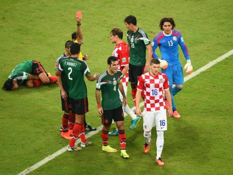 Red mist descends as Croatia tumble out of tournament