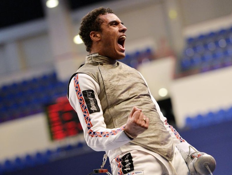 Fencer James Davis credits San Francisco move for changing his outlook