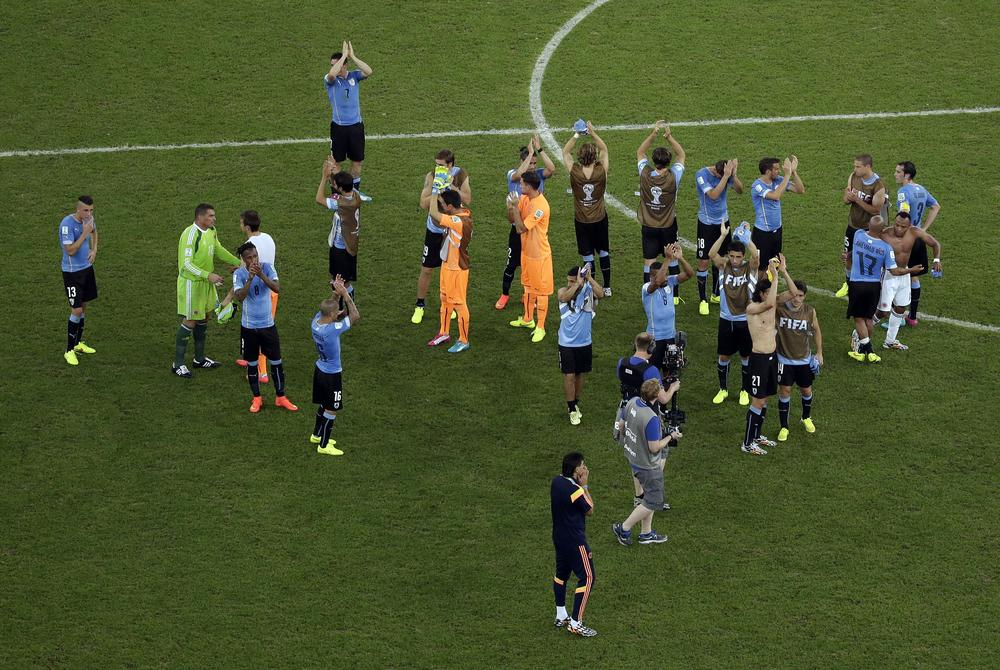Luis Suarez was sorely missed by Uruguay in Colombia defeat but future looks bright for La Celeste
