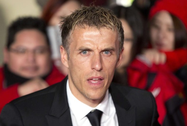 Phil Neville was slated for his performance as a summariser (Picture: Reuters)