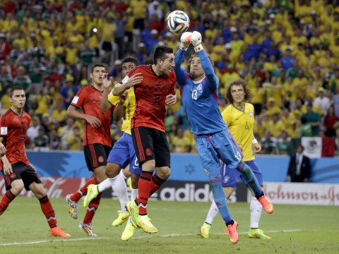 8d9d1a606 Guillermo Ochoa thwarts Brazil – is Mexico goalkeeper the best free  transfer at World Cup 2014