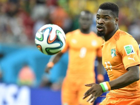 Ivory Coast star Serge Aurier showed why Arsenal want him against Japan