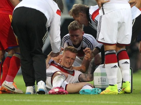 German star Marco Reus sees his World Cup dream shattered by horror injury