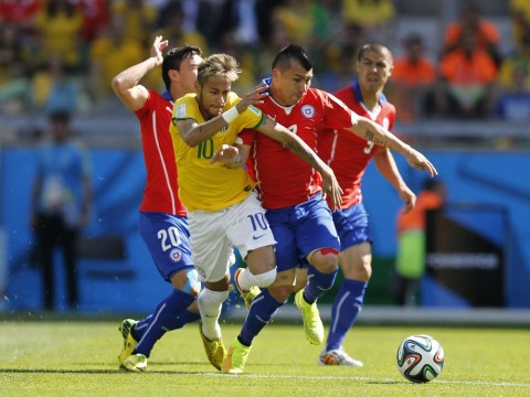 Cardiff's Gary Medel puts in superhuman performance in Chile World Cup loss to Brazil
