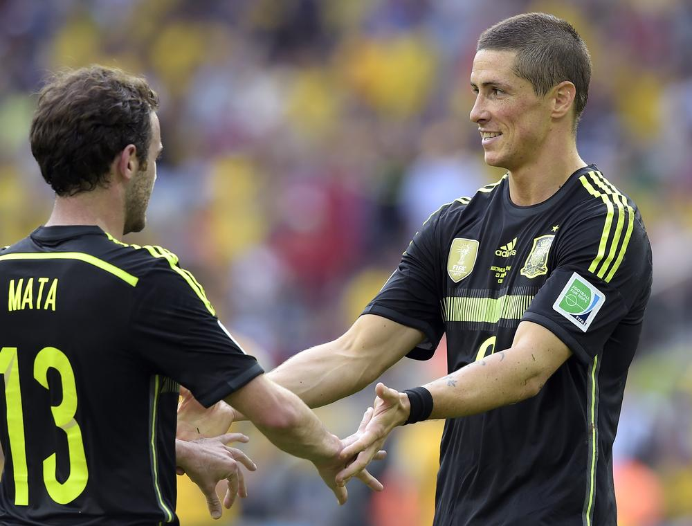 Fernando Torres and Juan Mata hit the mark as Spain finally click into gear v Australia