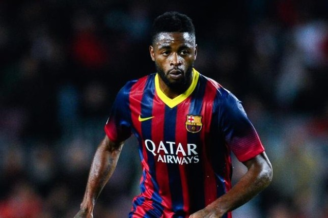 Резултат с изображение за alex song barcelona
