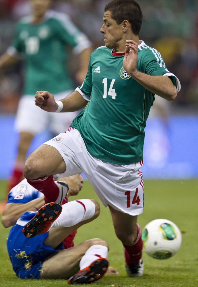 Chicharito unlikely to be in Mexico's starting eleven. (AP Photo/Christian Palma, File)- SEE FURTHER WORLD CUP CONTENT AT APIMAGES.COM