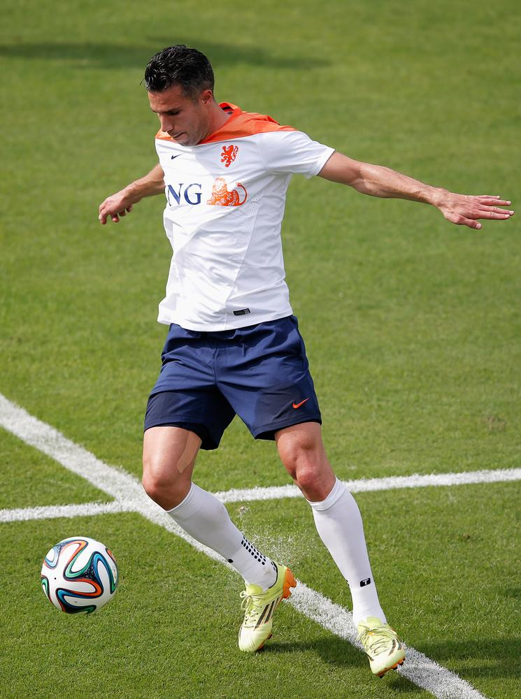 Robin van Persie crucial for Netherlands hopes against Spain in their World Cup opener
