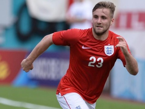 Manchester United in transfer for talks for Luke Shaw but no £34m bid