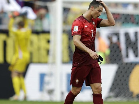 If Cristiano Ronaldo thought his day couldn't get worse… he was wrong
