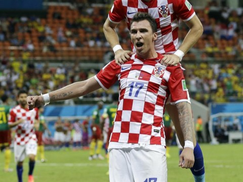 Mario Mandzukic shows why he is an Arsenal transfer target while Ivan Perisic could end up at Everton after Croatia win