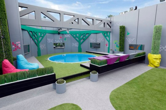 Undated Channel 5 handout photo of the garden in the Big Brother house before the start of the latest series of the Channel 5 programme. PRESS ASSOCIATION Photo. Issue date: Monday June 2, 2014. See PA story SHOWBIZ Brother. Photo credit should read: Channel 5/PA Wire NOTE TO EDITORS: This handout photo may only be used in for editorial reporting purposes for the contemporaneous illustration of events, things or the people in the image or facts mentioned in the caption. Reuse of the picture may require further permission from the copyright holder.