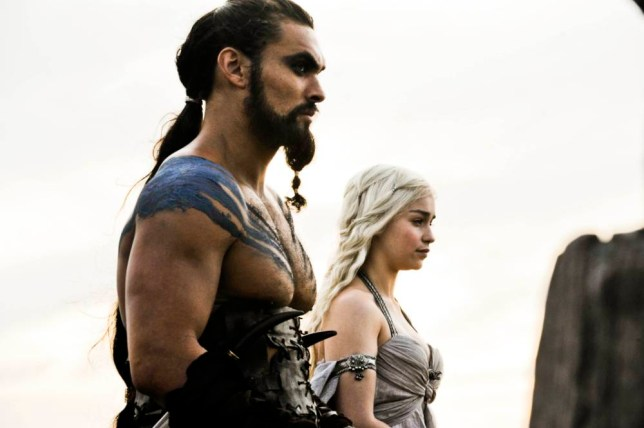 Daenerys Targaryen and Khal Drogo, Game Of Thrones
