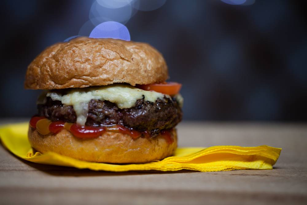 The ultimate home-made beef burger recipe