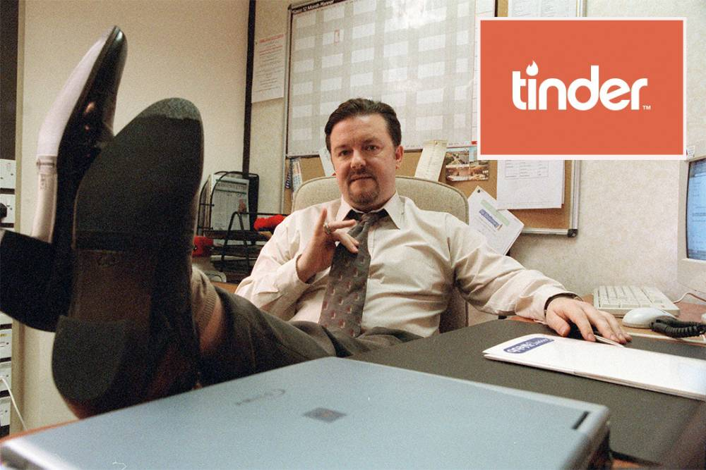 Brent, the king of awkward conversation (Picture: Tinder)