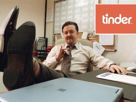 David Brent quotes woo the ladies on Tinder