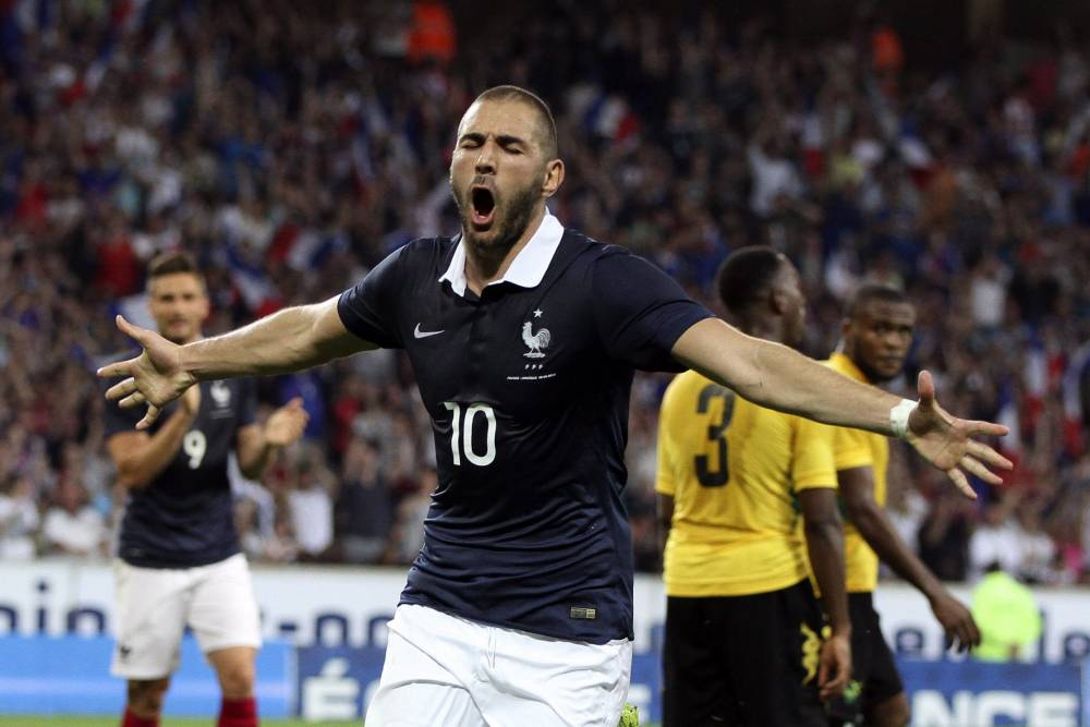 Olivier Giroud and Karim Benzema combine to tear up Jamaica – hope for future Arsenal transfer?