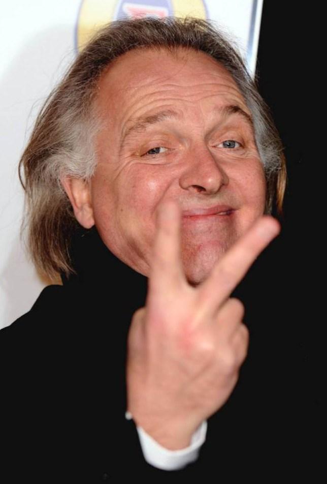 Mandatory Credit: Photo by David Fisher/REX (1522828eg).. Rik Mayall.. British Comedy Awards, London, Britain - 16 Dec 2011.. ..