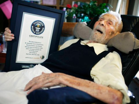 World's oldest man dies aged 111, 124 days