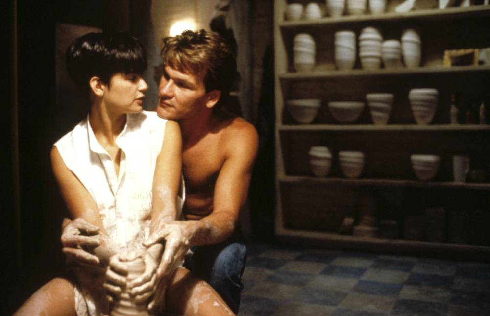 25 years on the pottery wheel scene in Ghost is still the sexiest sex scene ever