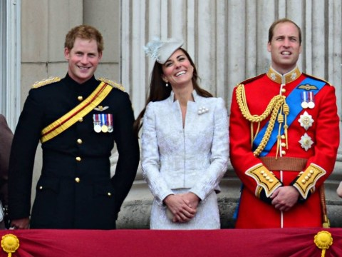 Where's your colour, Kate? Duchess of Cambridge chooses all-white outfit for Trooping The Colour ceremony