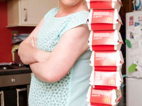 Mother who soared to 20st gorging on McDonald's finally kicks her habit