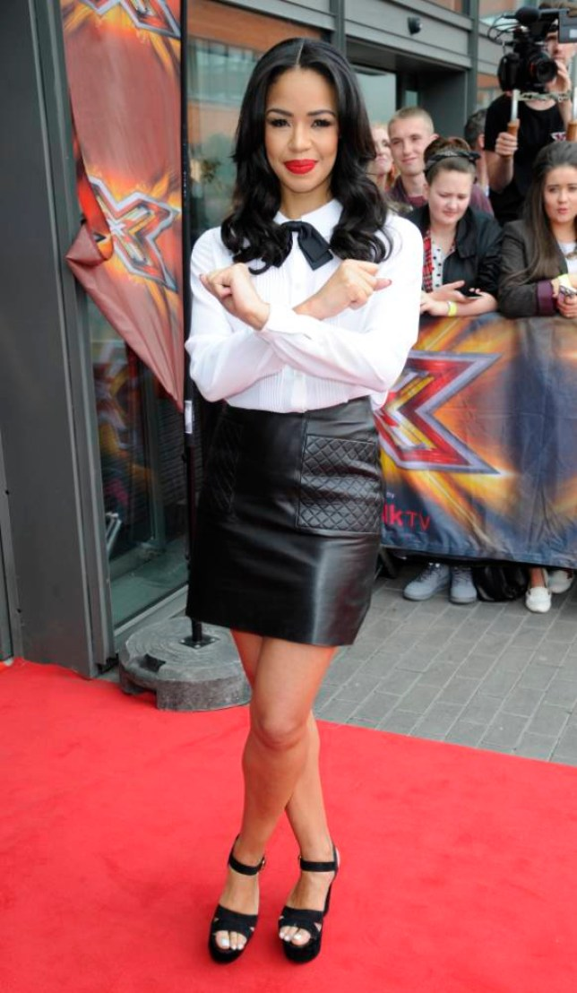 16 Jun 2014 - MANCHESTER - UK  X FACTOR JUDGES AND PRESENTERS DERMOT O'LEARY,LOUIS WALSH,SARAH JANE CRAWFORD,MEL B AND CHERYL COLE SEEN ARRIVING AT THE FIRST DAY OF THE AUDITIONS IN MANCHESTER  BYLINE MUST READ : XPOSUREPHOTOS.COM  ***UK CLIENTS - PICTURES CONTAINING CHILDREN PLEASE PIXELATE FACE PRIOR TO PUBLICATION ***  **UK CLIENTS MUST CALL PRIOR TO TV OR ONLINE USAGE PLEASE TELEPHONE   44 208 344 2007 **