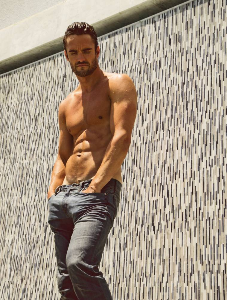 The modern-day Mr Darcy: Kelly Brook's ex Thom Evans eyes classic role
