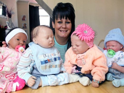 Meet the mum of four who spent £2,000 on fake babies