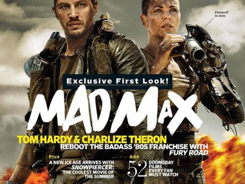 Tom Hardy and Charlie Theron look badass in new picture from Mad Max reboot Fury Road