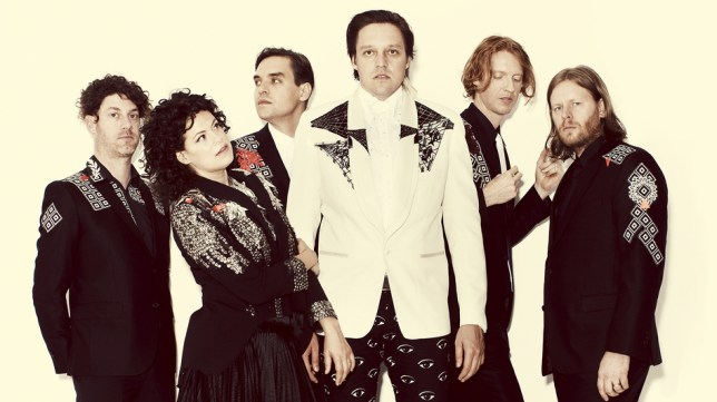 Arcade Fire are the band on everyone's lips right now (Picture: Supplied)