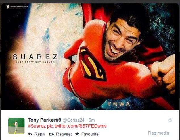 Pictures: Twitter reacts to Luis Suarez destruction of England v Uruguay match at Brazil World Cup finals 2014