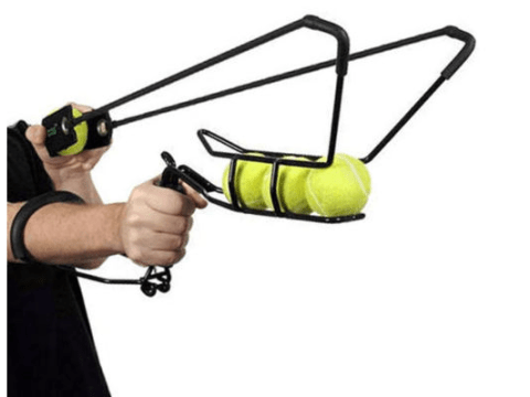 Your dog will love this: Monster catapult shoots tennis balls over 60 metres