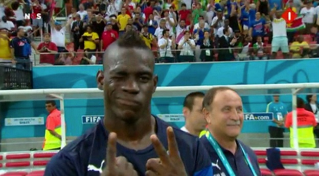World Cup 2014: Mario Balotelli as humble as ever after scoring the winner for Italy against England