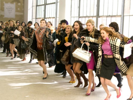 The 10 things that happen when shopping at sample sales