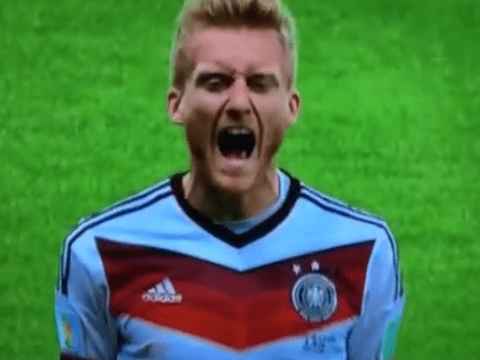 Tekkers alert! Andre Schurrle produces brilliant backheel as  Germany finally break Algerian resistance